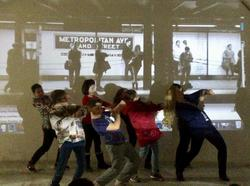 Artist and French Students Communicate Through Dance