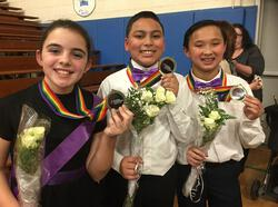 Eagle Fifth Graders Take Gold at LI Dance Competition