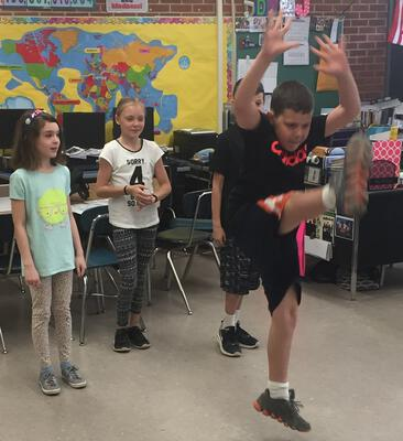Empowering Students Through Words and Dance