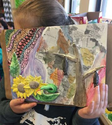 Inspiring Young Writers through Visual Arts